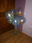"""24 воздушные шары с рисунком 12"""" и 14 """" купить в Киеве"""