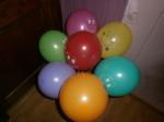 30 гелиевые шарики смайлы разноцветные 30 см купить