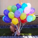 обработанные шарики надутые гелием 22см -26грн, 25см - 28грн, 30см - 33грн