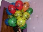 3 гелиевые шарики машинки и автогонки тачки