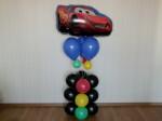 2 композиция гелиевые шарики светофор и молния маккуин
