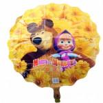 11 заказать шарики из фольги маша и медведь