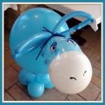 16 Фигура из шариков ослик Иа