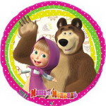 9 украшение шарами Маша и медведь