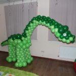 фигура из воздушных шаров динозавр 1500грн