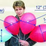размеры шаров сравнение