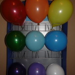 размеры воздушных шаров 22см (9дюймов), 25см (10 дюймов), 30см (12 дюймов)