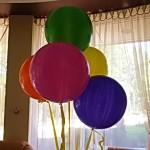 разноцветные большие шары гиганты 250грн/шт.