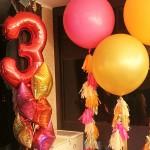 украшение комнаты шарами на день рождения 3 года